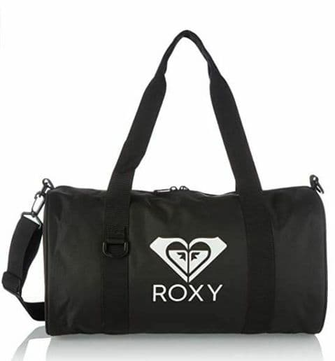 ROXY WOMENS DUFFLE BAG.VITAMIN SEA BLACK CARRY ON SHOULDER GYM CABIN HOLDALL S21